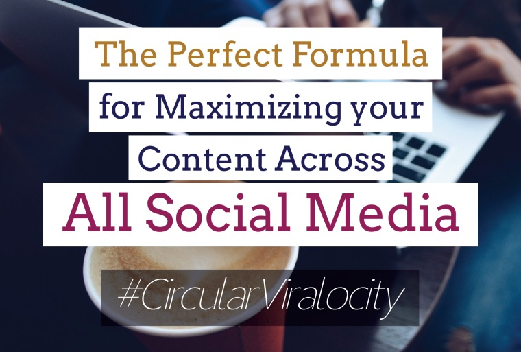 The Perfect Formula for Maximizing Your Content Across all Social Media